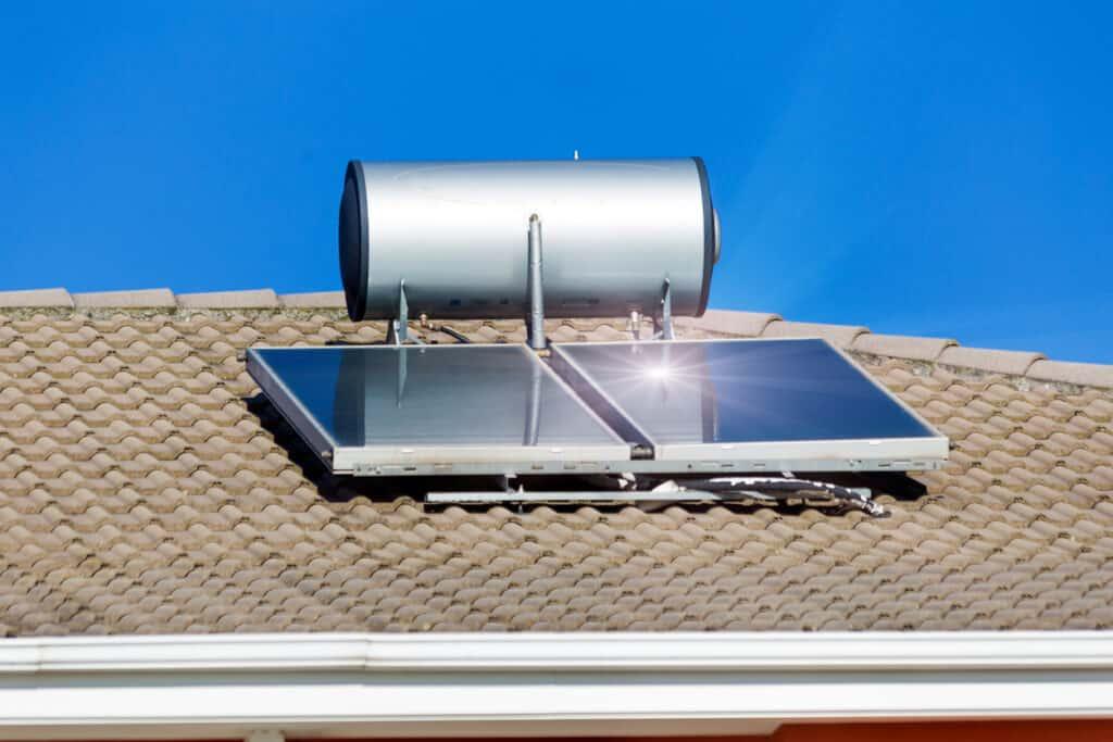 Groene lening voor zonneboiler